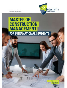 Master of Construction Management course for international students