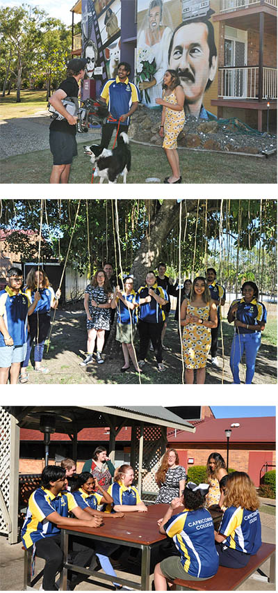 Capricornia College marks 50 years housing the leaders of