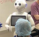 CQUniversity has started trials of a humanoid-style robot which has been programmed to calm kids being treated in hospital.