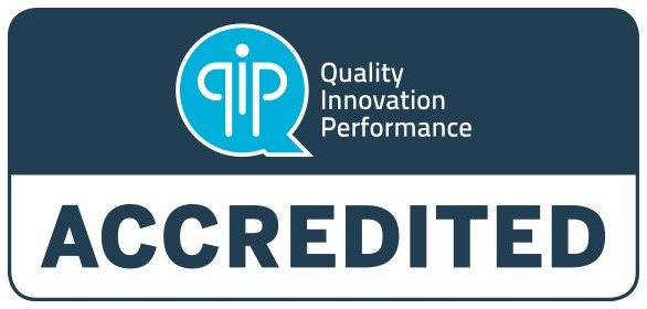 Quality Innovation Performance Accredited logo