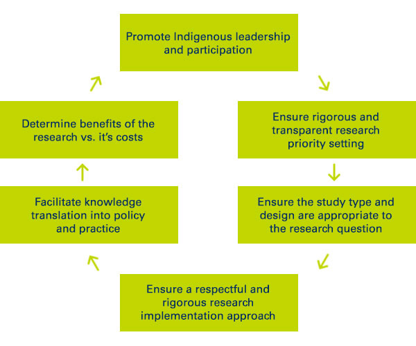Centre for Indigenous Health Equity Research Impact diagram