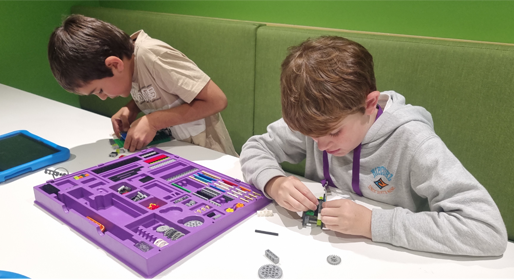 Gladstone school students immersing themselves in activities during the Young Engineers workshop
