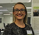 Sonya Murphy is pictured with her poster presentation at the recent CQUni Engineering Showcase.