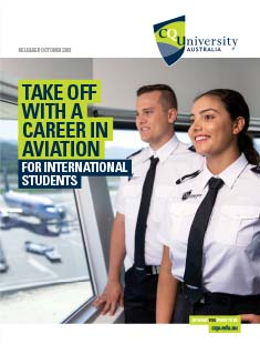 Bachelor of Aviation (Commercial Pilot) course for international students