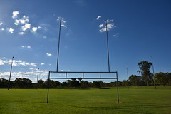 CQUni Community Sports Centre Rugby fields