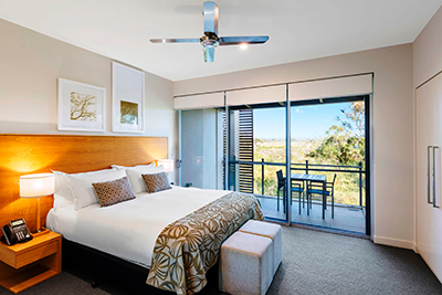 Example of accommodation at the RACV Noosa Resort