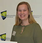 CQUni Business student Emily Haig received the Shelley Gregory Memorial Prize from Vice-Chancellor Prof Nick Klomp at the recent 2019 Student Awards and Scholarship Presentation Ceremony.