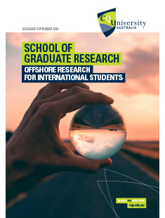 School of Graduate Research Offshore Research for course for international students