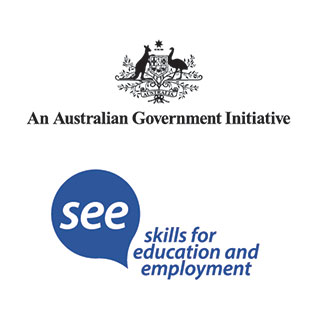 Australian Government and Skills for Education and Employment Logo