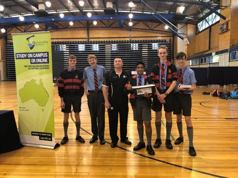 Spirit of the competition award winners Rockhampton Grammar School Soccer Teams