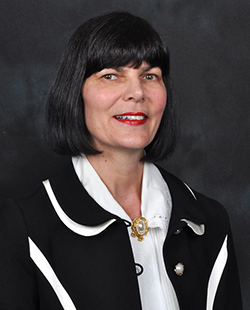 Associate Vice-Chancellor Kim Harrington