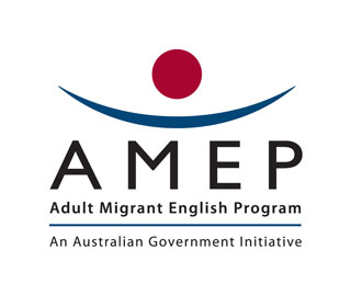 Adult Migrant English Program Logo