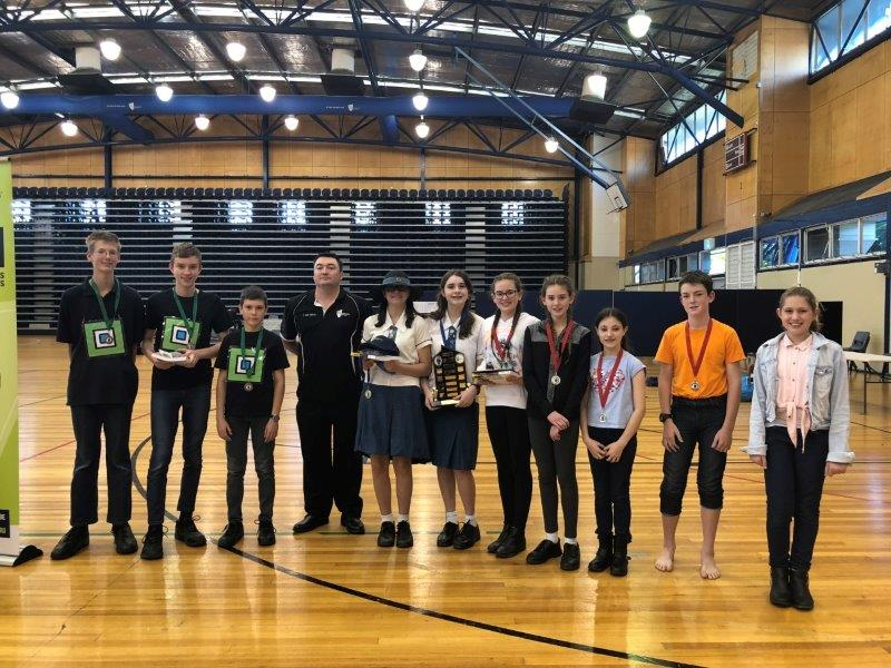 2018 Winners of the Secondary Dance competition