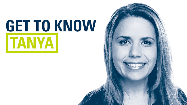 Get to know Tanya