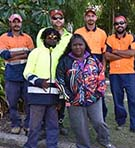 Woorabinda Pastoral Company trainees are enhancing their skills with a CQUni Certificate I in Conservation and Land Management course as part of the Queensland Government's Skilling Queenslanders for Work program.