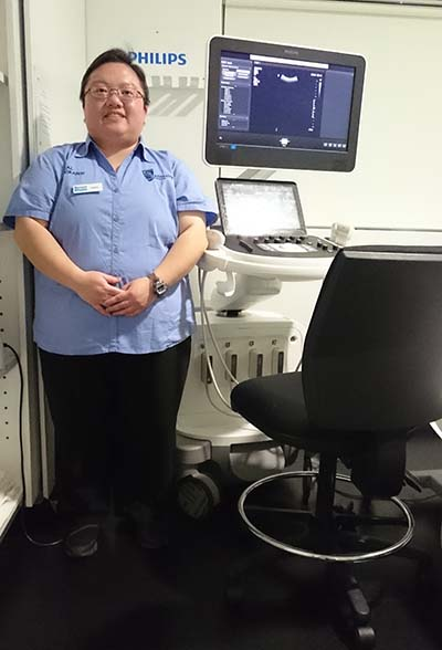 Sounding out careers: future's bright for Sonography