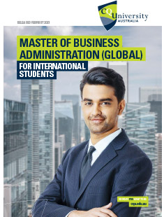 Master of Business Administration Global for course for international students